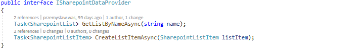 Updating the SharePoint list - Scalo